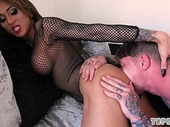 hot shemale ass lick and cumshot segment