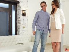 18 Videoz - Hazel Dew - Anal pleasure after work