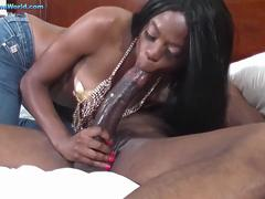 Melody Cummings Is A Smashing, Ebony Lady Who Knows What To Do With A Big, Black Cock