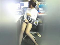 horny Ladyboy with a very small cock very sissy playing