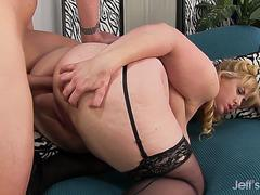 Jeffs Models - Stunning Busty Plumper Lila Lovely Doggystyle Compilation 2