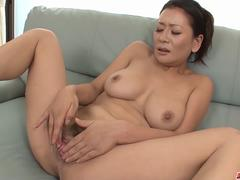 Rei Kitajima puts a lot of dick in her thirsty mouth - More at Japanesemamas.com