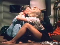 Old Time Classic Blonde Sex