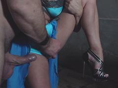 Michelle Thorne sucks cock hardcore fucking Viking facial cumshot exclusively in Game of Thornes