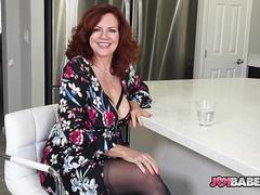 Busty Wife Andi James JOI to Husbands Friend