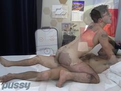 JockPussy - FTM jock hammered by hairy tennis player