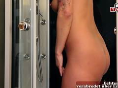 german amateur brunette housewife with tattoos fuck younger guy