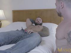 MASQULIN Bearded Markus Kage Barebacks Bottom Igor Romani