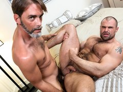 Muscle Guy Getting His Ass Banged Hard