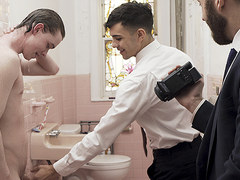 MormonBoyz - Hot Priest And A Missionary Boy Anally Fuck A New Recruit