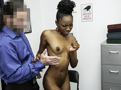 ShopLyfter - Pretty Ebony Teen Gets Creampie As Punishment For Stealing
