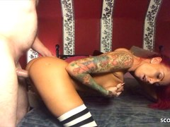 Redhead German Hooker Fuck extrem hard like the Cock broke