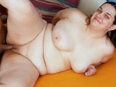 Stupid Chubby Ugly Girl Rough with Big Ass Fuck for 20 Euros