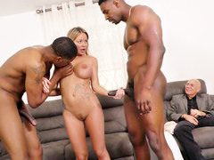 Rachele Richey Interracial Threesome Sex - Cuckold Sessions
